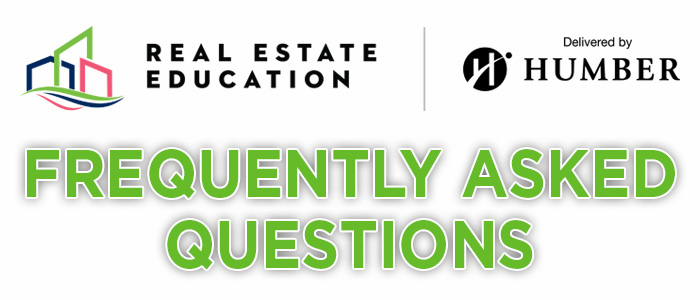 New Real Estate Education Programs FAQ