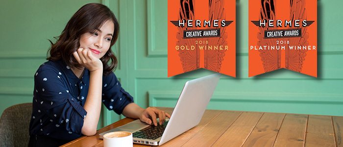 RECO's MCE program recognized by Hermes Creative Awards