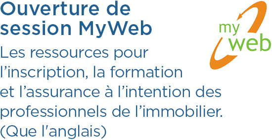 Ouverture de session MyWeb