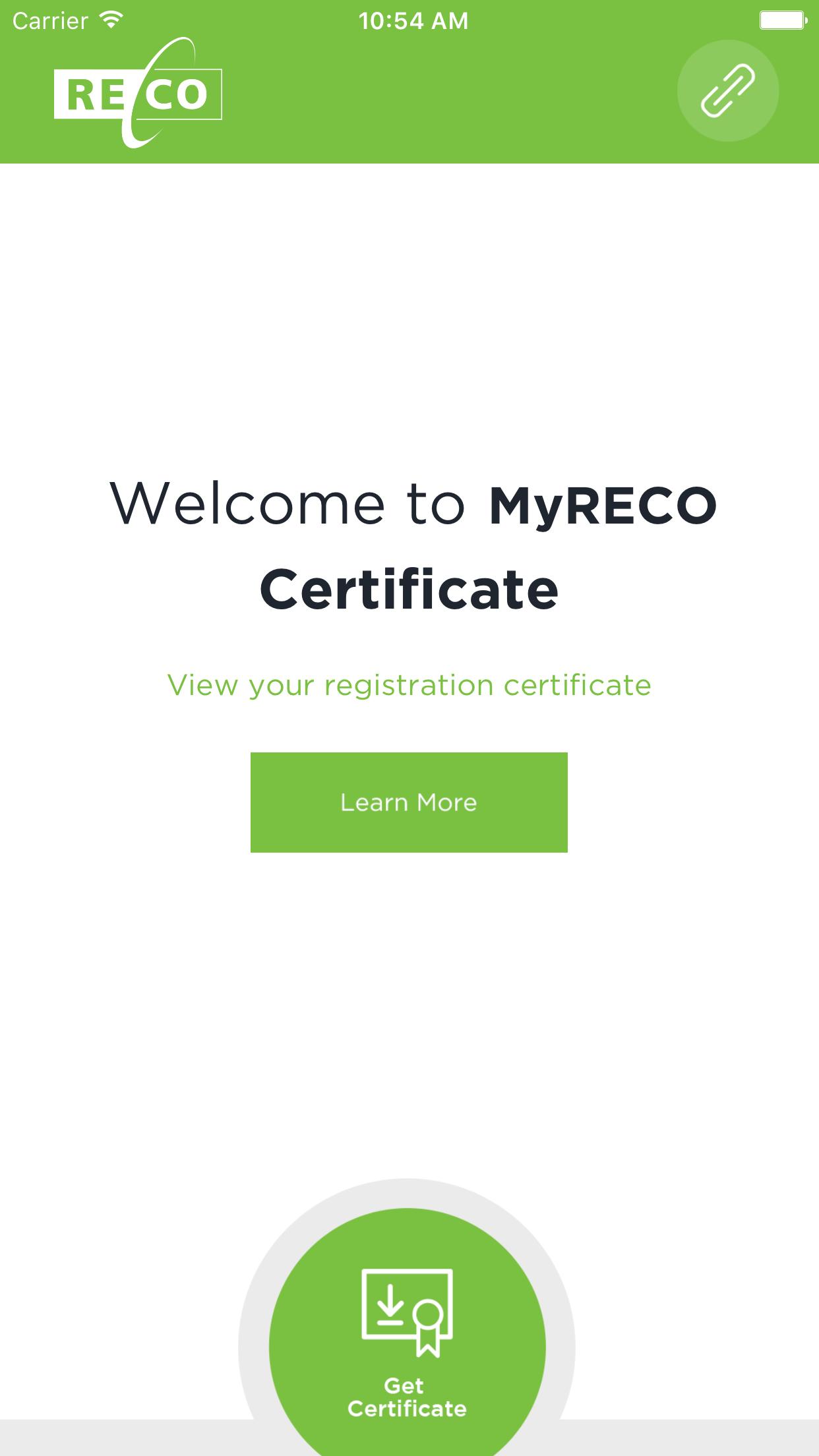 1 Get Certificate