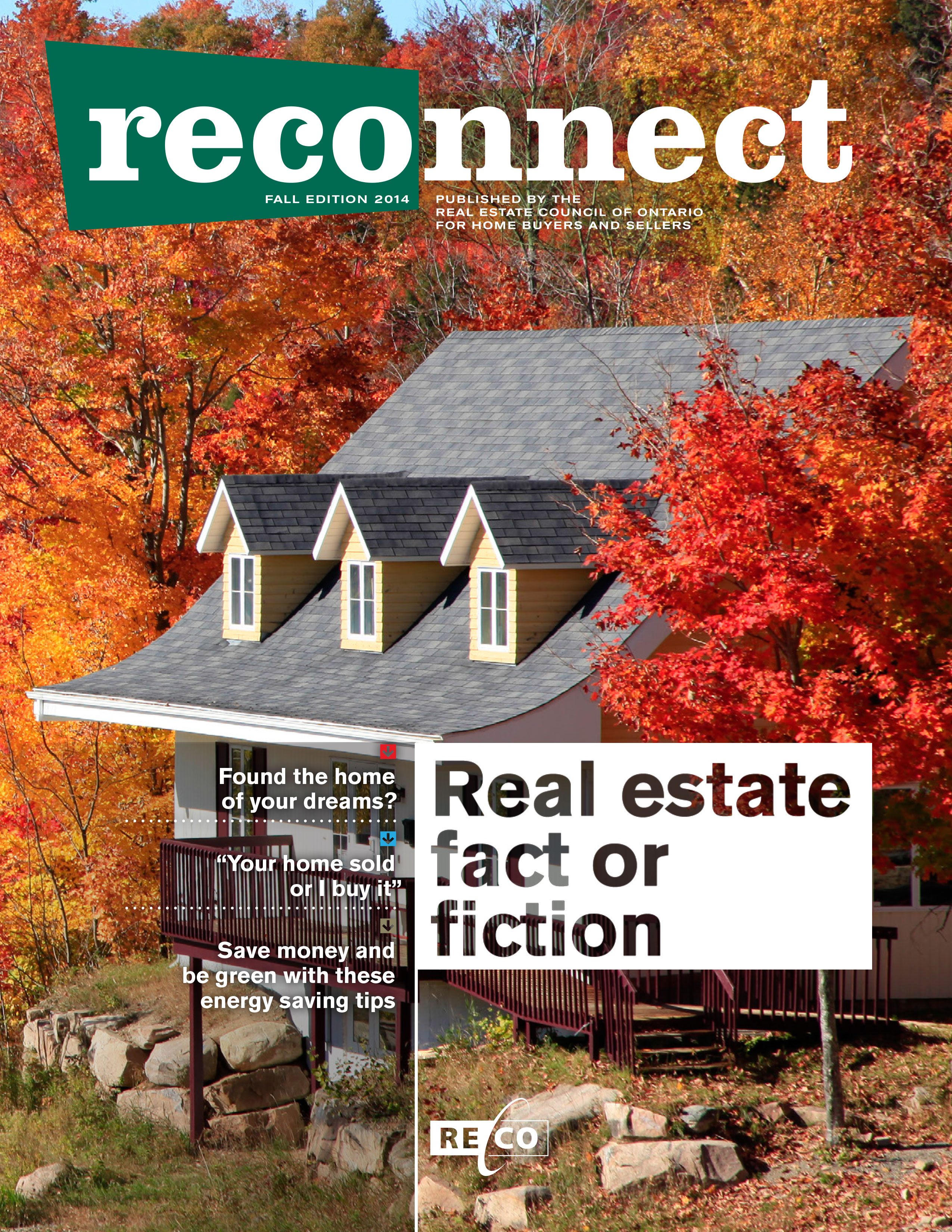 RECOnnect Autumn Cover
