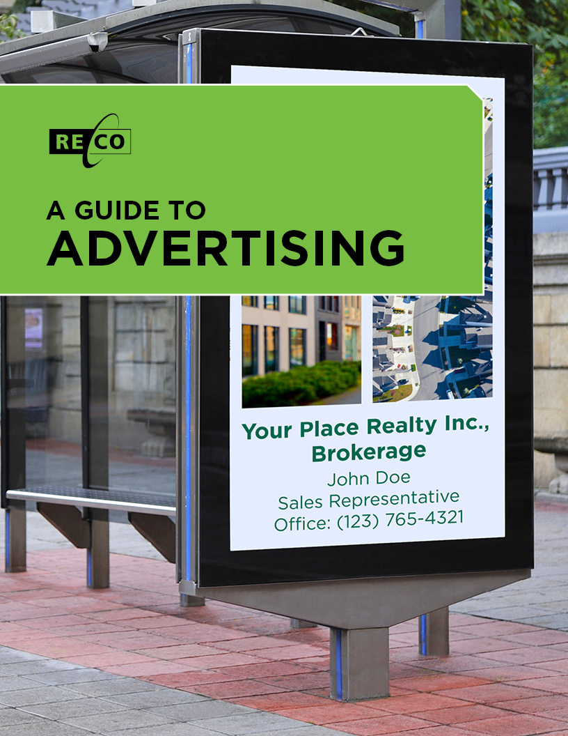 A guide to advertising cover page