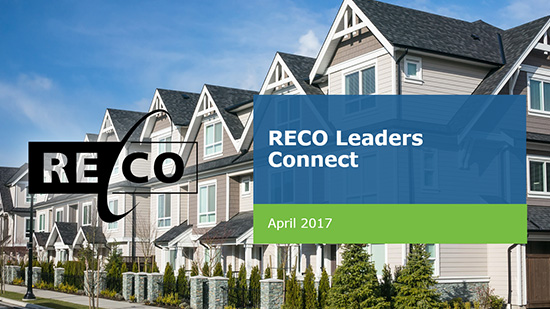 Watch the RECO Leaders Connect Webinar