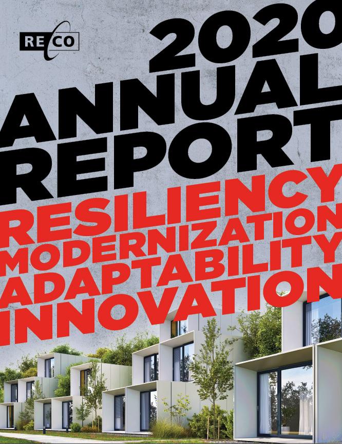 RECO's 2020 Annual Report