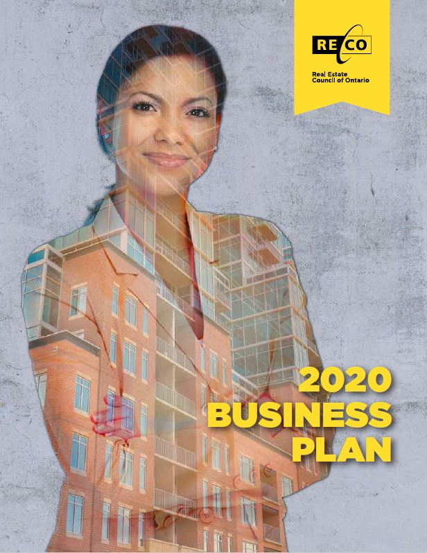 RECO Business Plan Cover Page