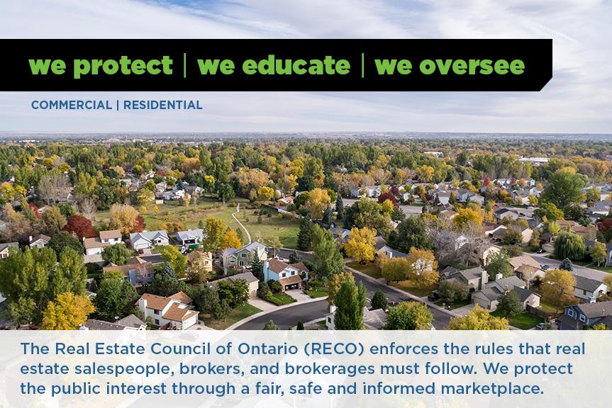 RECO | Real Estate Council of Ontario