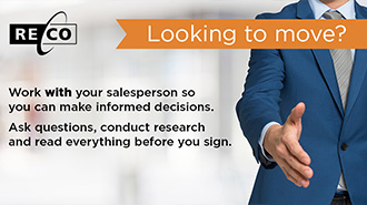 Work with your salesperson