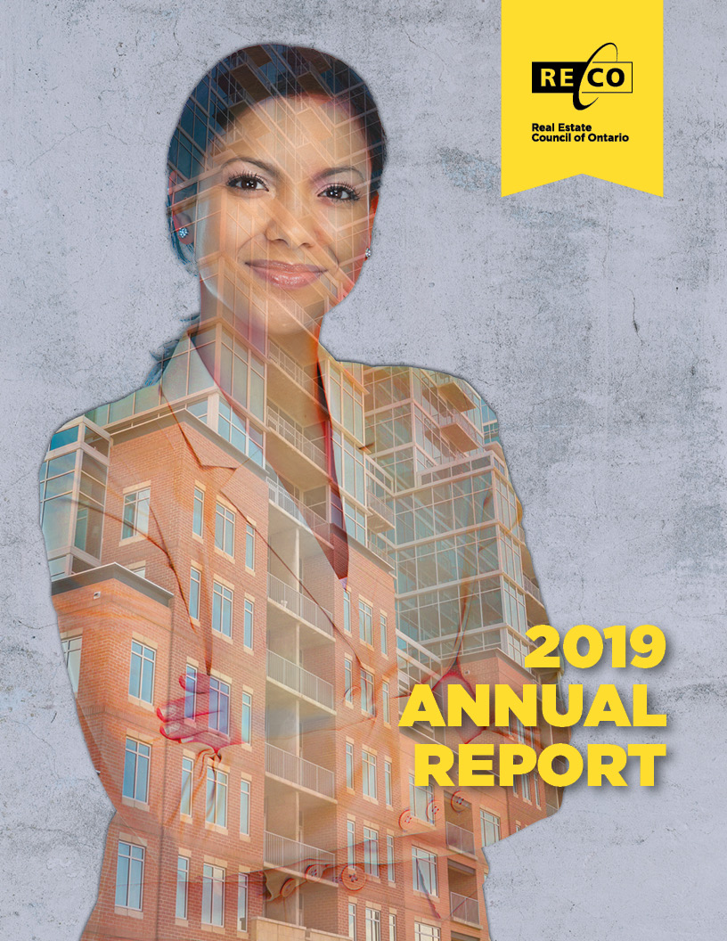 RECO Annual Report 2019 cover