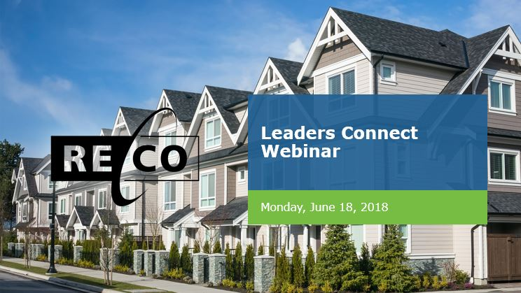 Watch the latest RECO Leaders Connect Webinar