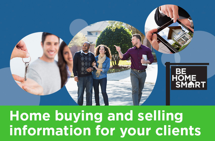 home buying and selling information for your clients